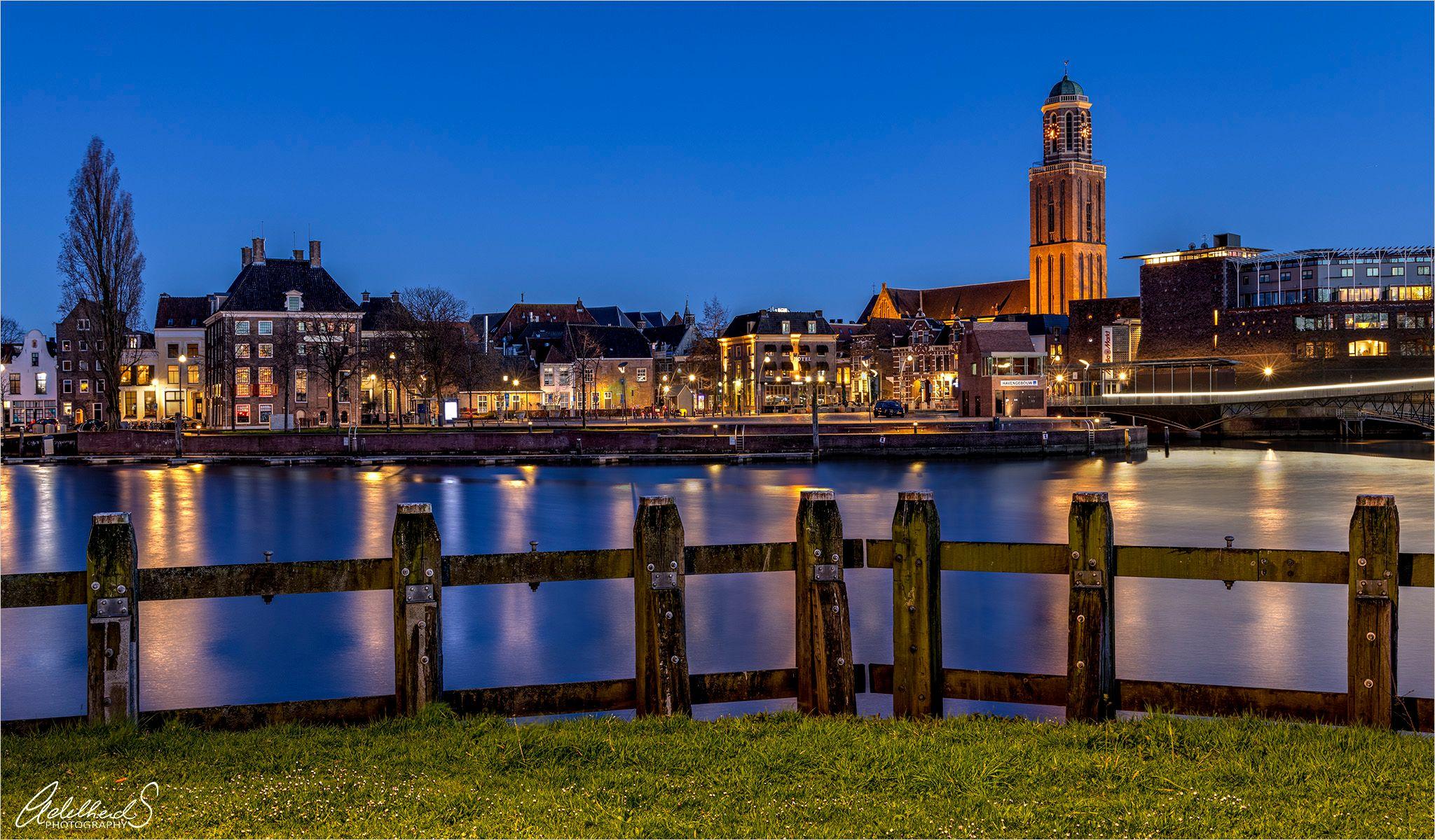 Panorama centrum Zwolle